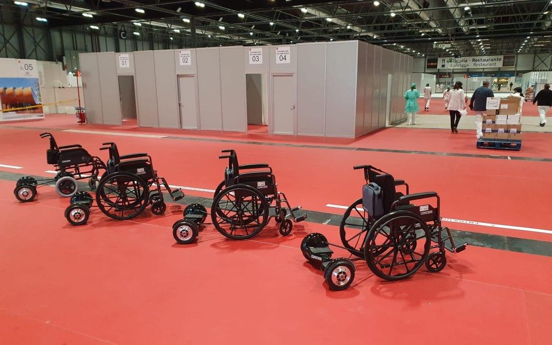 Mooevo amplía la movilidad ayudando al Hospital Covid-19 de IFEMA