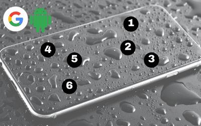 Google presenta el primer teclado braille integrado en Android como nueva función de la accesibilidad del dispositivo.