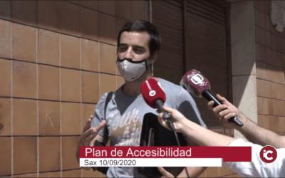EL AYUNTAMIENTO DE SAX CUENTA CON UN PLAN DE ACCESIBILIDAD