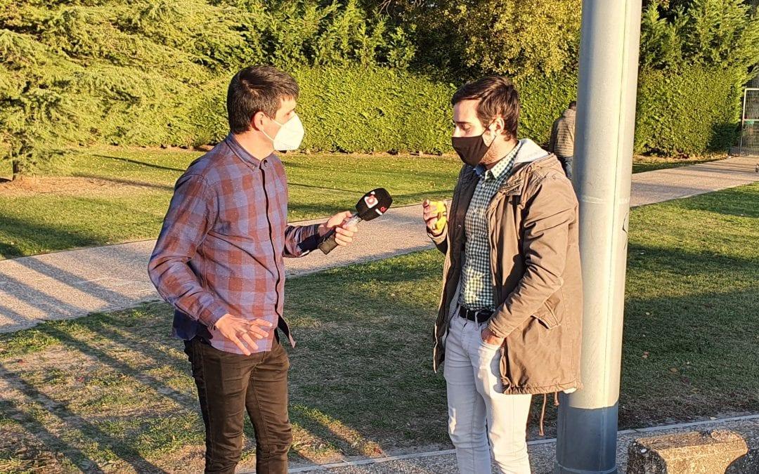 La 8 Palencia realiza una entrevista a INFINIA sobre accesibilidad en áreas deportivas