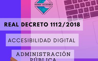 Normativa básica sobre accesibilidad digital