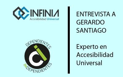 INFINIA Y DEPENDIENTES INDEPENDIENTES ENTREVISTAN A GERARDO SANTIAGO